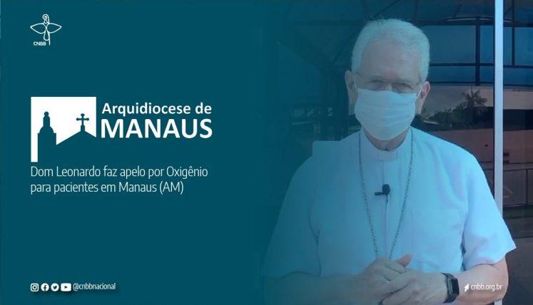 Covid 19: arcebispo de Manaus pede por ajuda