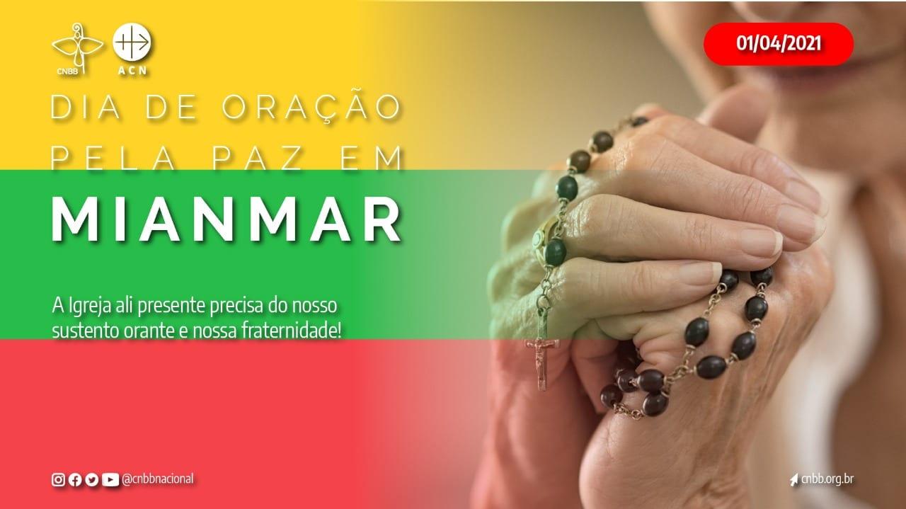 CNBB promove na próxima quinta-feira 1º dia de oração dedicada à paz no Myanmar