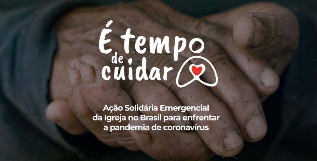 É tempo de cuidar: segunda fase da ação solidária começa no próximo domingo, às 15h