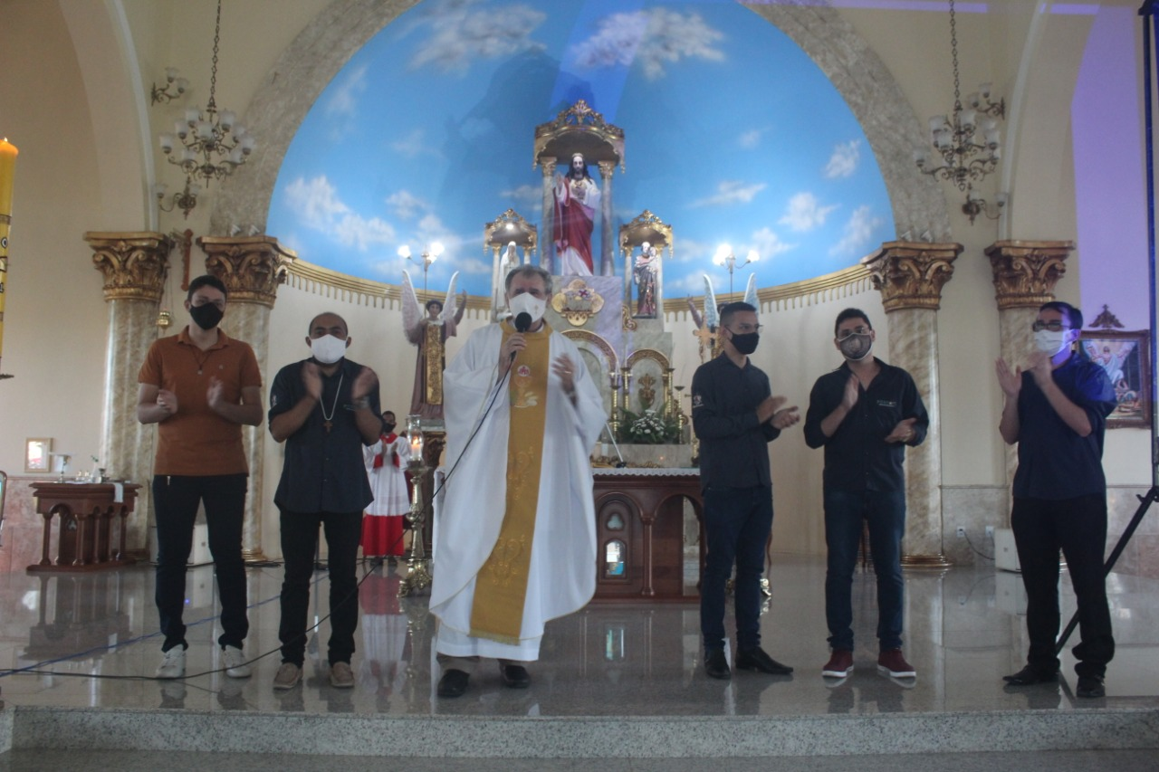Paróquia São Manuel, da Diocese de Sobral, celebrou o 55° Dia Mundial das Comunicações Sociais
