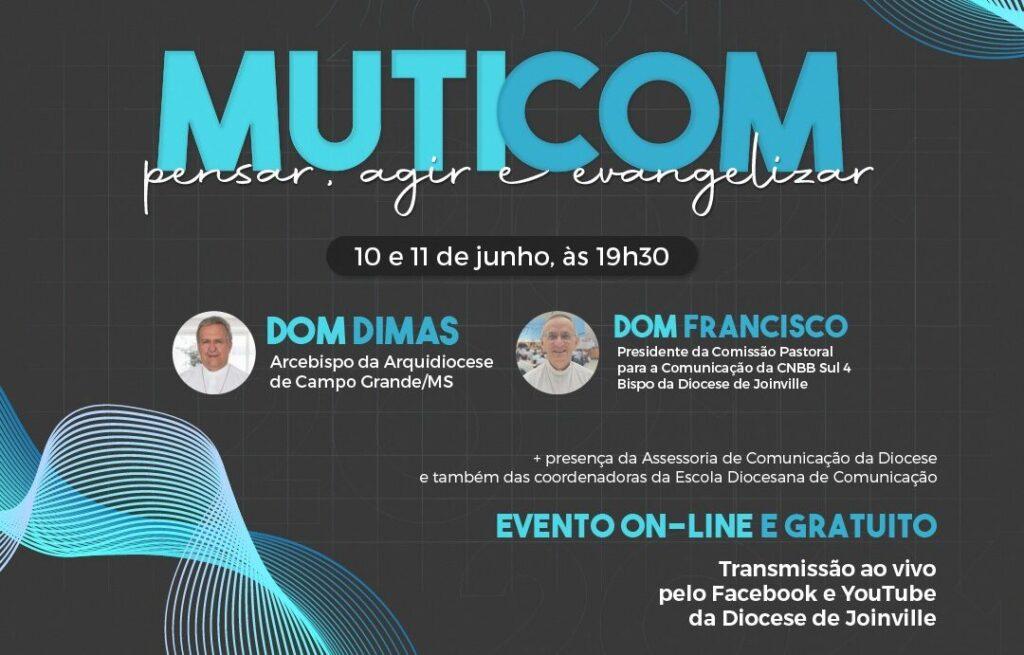 Diocese de Joinville realiza Mutirão Diocesano de Comunicação